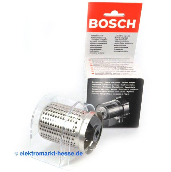 bosch muz7rv1 reibevorsatz aludruckguss f r k chenmaschine mum7 ebay. Black Bedroom Furniture Sets. Home Design Ideas